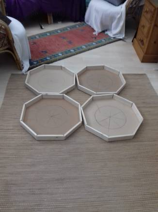 1 New Octagonal Consoles - basic frame