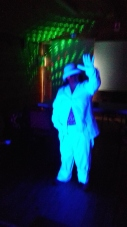 5 Flossie in White Suit under UV (3)