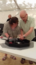 8 Flossie and Chris Cutting Silver Sticky Backed Plastic