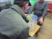 Tim and Colin Playing the Orbits Game 2